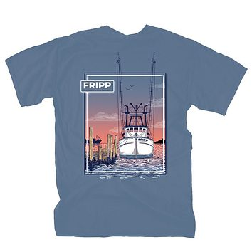 Shrimp Boat T-Shirt by Fripp Outdoors
