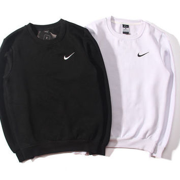 "Women ""NIKE"" Round Neck Top Pullover Sweater Sweatshirt"