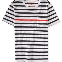 Pop Stripe Pocket Tee