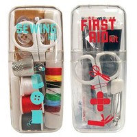 Mini Sewing Kit & Mini First Aid Kit | The Container Store