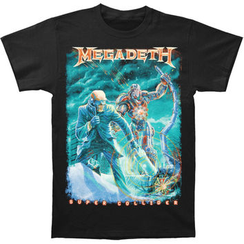 Megadeth Men's  Vic Canister T-shirt Black