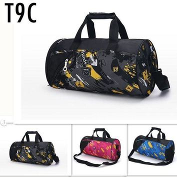 CREY3F 0 Brand New Gym Bags Brand Waterproof Mulitifunctional Outdoor Men luggage travel Bag Men's Backpacks Sports Bags Duffle Bag