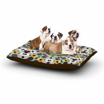 "Angelo Cerantola ""Fruity Fun"" Green Modern Dog Bed"