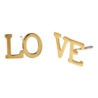 Supermarket: Divided Love Studs from Emily Elizabeth Jewelry