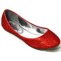 Sparkle Flat in Red from Rad and Lux