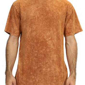 Camel Brown Jersey Long T-Shirt