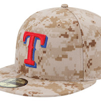 Texas Rangers MLB 2013 Memorial Day Stars & Stripes 59FIFTY Cap