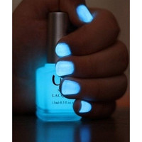 SAME DAY SHIPPING Glow In The Dark Florescent Nail Polish In 7 Party Colors [8096931463]