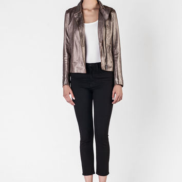 S.W.O.R.D  -  Bronze Gold Leather Jacket