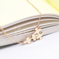 Puzzle Pieces Necklace