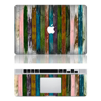 wood stripe macbook pro cover decals mac pro cover stickers macbook pro decal laptop stickers macbook air cover stickers for pro/air