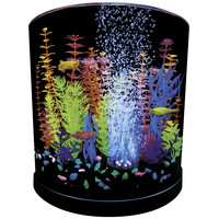 Glofish Half Moon Kit with Blue LED Bubbler - 3 Gallon