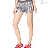 Live Love Dream Womens LLD Mesh Shorts - Gray,