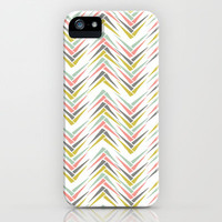 Wheat Chevron iPhone & iPod Case by Beth Thompson