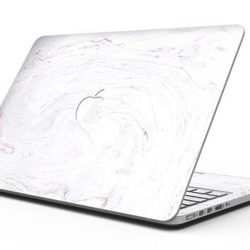 Mixtured Textured Marble v8 - MacBook Pro with Retina Display Full-Coverage Skin Kit