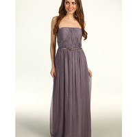 Donna Morgan Multi-Directional Belted Bustier Dress Grey Ridge - Zappos.com Free Shipping BOTH Ways
