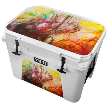 Finger Paint Masterpiece Skin for the Yeti Tundra Cooler
