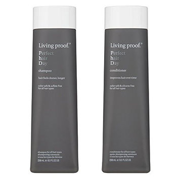 Living Proof Perfect Hair Day Shampoo & Conditioner 8 oz