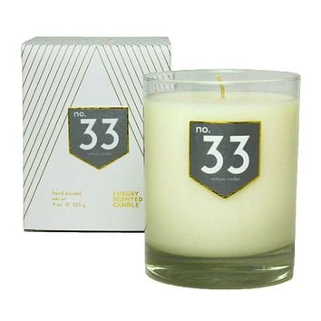 No. 33 Vetiver Cedar Scented Soy Candle