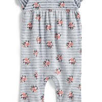 Infant Girl's Nordstrom Baby Long Leg Bubble Romper