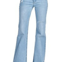 Distressed Bell Bottoms