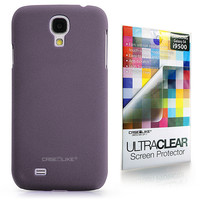 Quicksand Rubberized 9905 back cover, Samsung Galaxy S4, Purple