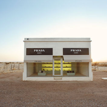 Prada Marfa Surreal West Texas Fine Art by KristinKirkley on Etsy