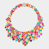 Multicolor Audrey Necklace
