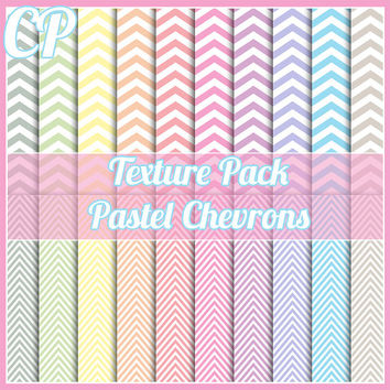 Pastel Chevrons texture pack. Great for blog backgrounds, digital scrapbooking, or web design etc.