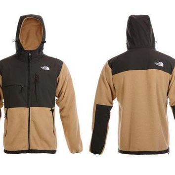 The North Face Men's Denali Fleece Jacket Khaki