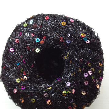 Image Gallery sequin yarn