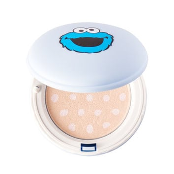 [IT'S SKIN] Macaron Sugar Powder Pact Special Edition - Sesame Street
