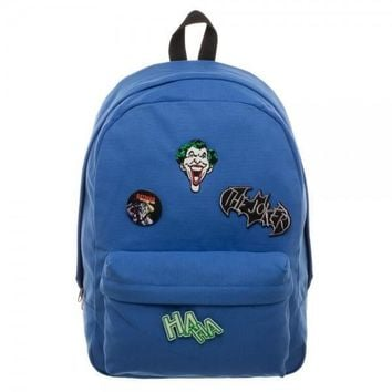 DC Comics Joker DIY Patch It Backpack