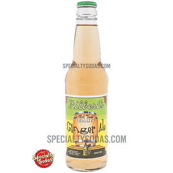 Filbert's Old Time Quality Ginger Ale 12oz Glass Bottle