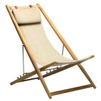 H 55 easychair, natural - Outdoor Furniture - Outdoor - Finnish Design Shop