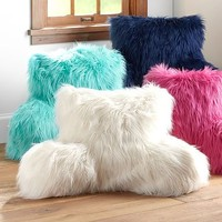 Faux Fur-rific Lounge Around Pillow Cover