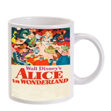 Gift Mugs | Alice In Wonderland Princess Ceramic Coffee Mugs
