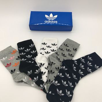 Adidas Fashion 5 pics of set long Sock Style #130