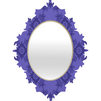 Lara Kulpa Ornamental Purple Baroque Mirror