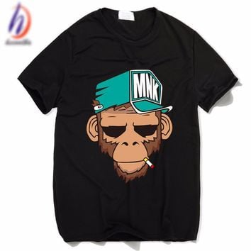 DCCK smoking monkey tshirt
