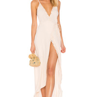 ASTR Isabella Dress in Blush | REVOLVE