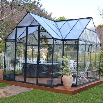Palram Chalet Greenhouse Kit | Hayneedle