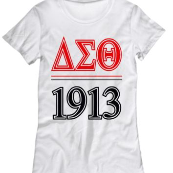 Delta Sigma Theta 1913 Sorority Top