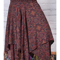 Sutra Pixie Double Skirt