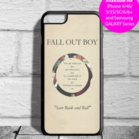 Fall Out Boy Poster Lyrics