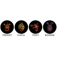 Mini FrightLight Projector Keychains Blind Bag - Five Nights At Freddy's