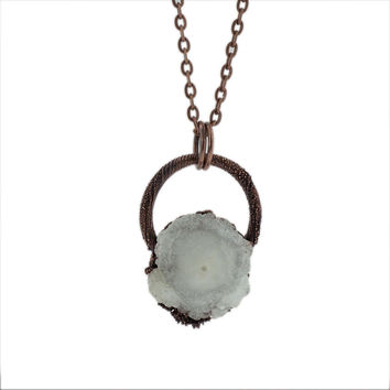 Solar Quartz Necklace
