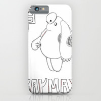 Baymax  iPhone & iPod Case by Jaclyn Celeste