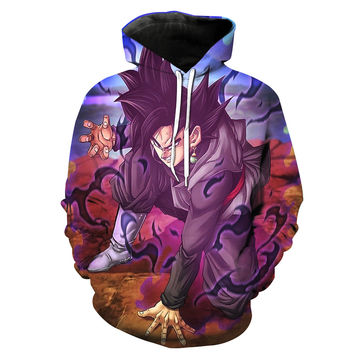 Evil Black Goku Dragon Ball Super Hoodie