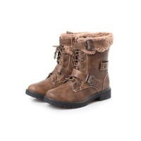 Reneeze ABBY-03 Women's Winter Combat Boots- Khaki